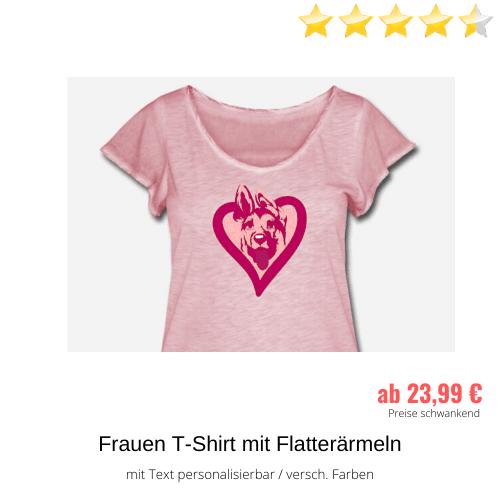 Schäferhund Frauen-Shirt