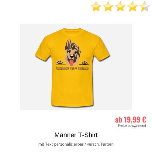 Schäferhund Männer T-Shirt