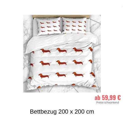 Bettbezug 200 x 200 cm