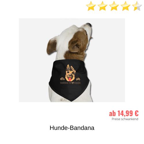 Schäferhund Hundebandana