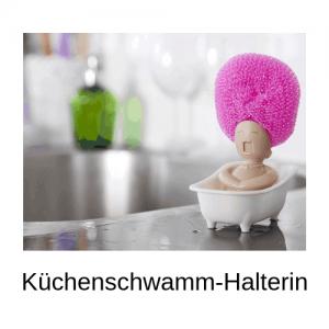Küchenschwamm-Halterin