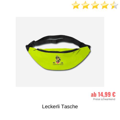 Schäferhund Leckerli Tasche