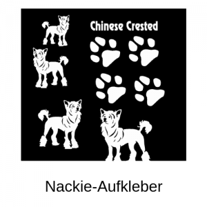 Nackie-Aufkleber