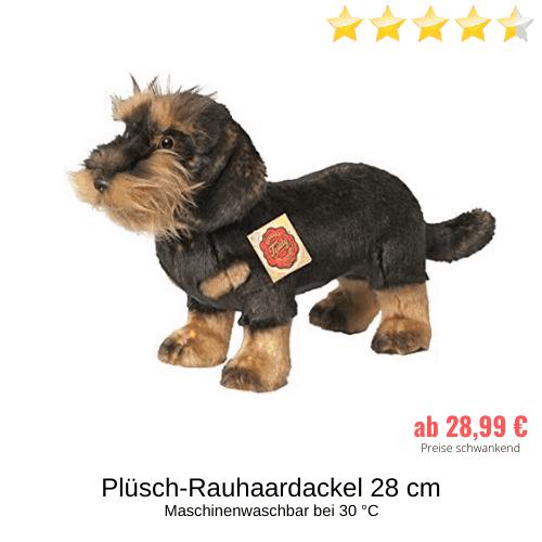 Plüsch-Rauhaardackel