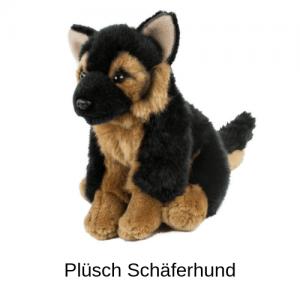 Plüsch Schäferhund
