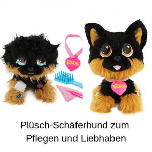 Plüsch-Schäferhund