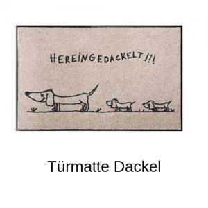 Türmatte Dackel